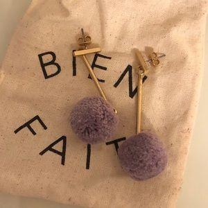 madewell Pom Pom earrings
